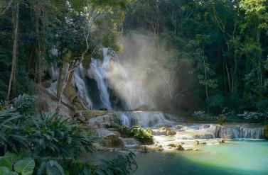Cascadas de Kuang Si, cerca de Luang Prabang (Laos)